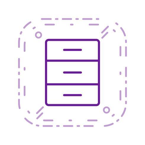 Arquive o ícone do vetor