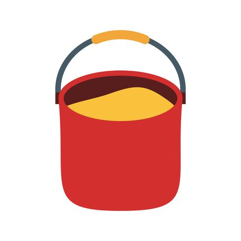 Pail Vector Icon