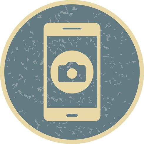 Icono de Vector de Aplicación Móvil de Cámara
