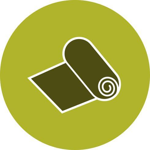 Papierrol Vector pictogram