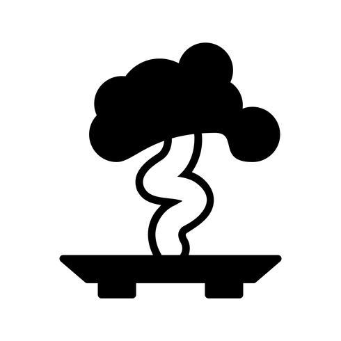 bonsai vector pictogram