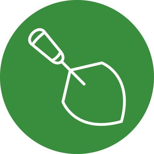 Troffel vector pictogram
