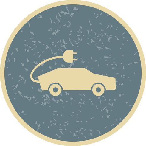 Elektrische auto Vector Icon