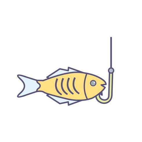Vissen Vector Icon