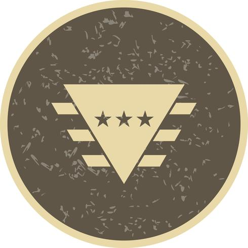 icône de vecteur de badge
