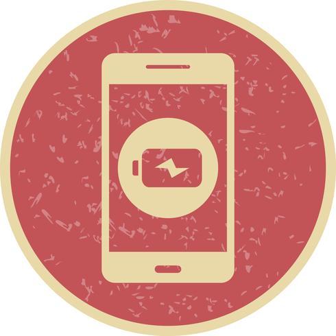 Mobiele applicatie vector pictogram opladen