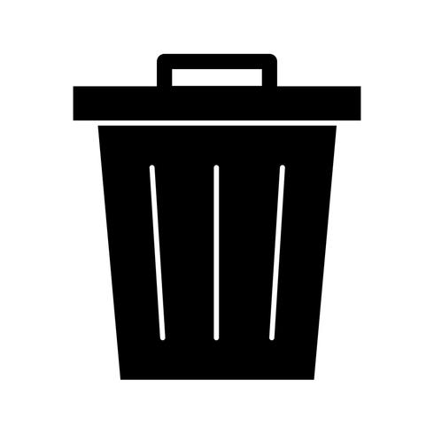 Abfall-Vektor-Symbol