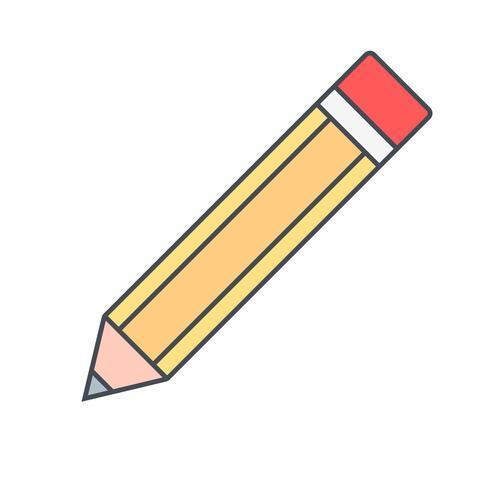 Bleistift-Vektor-Symbol