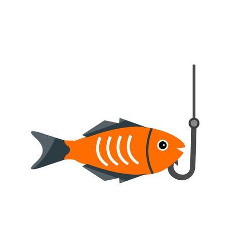 Icono de Vector de pesca