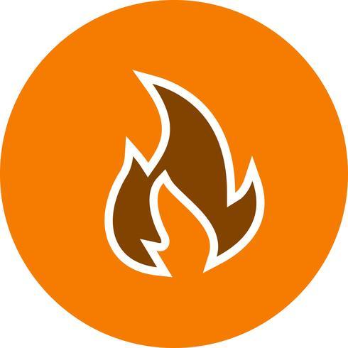 Feuer-Vektor-Symbol