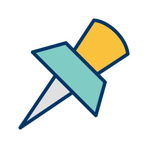 pin vector pictogram
