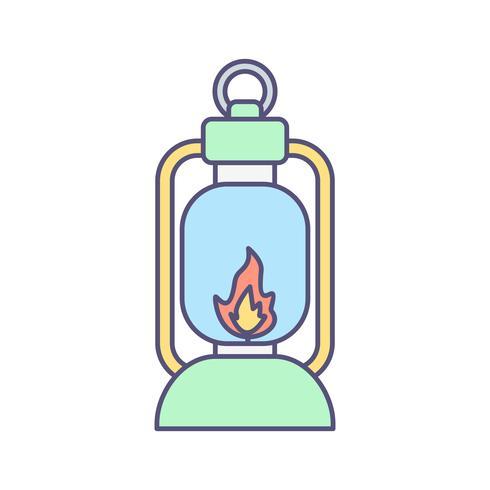 Lantren Vector Icon