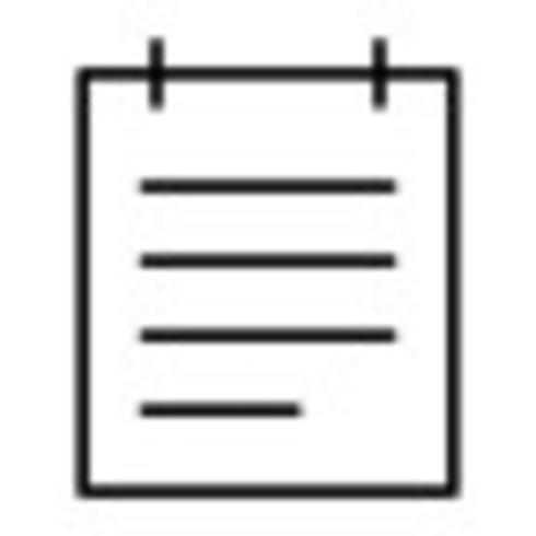 Notepad Vector Icon