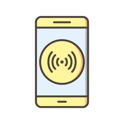 Hotspot mobiele applicatie vector pictogram