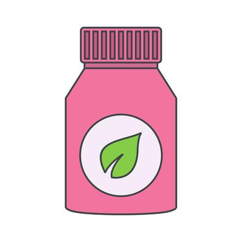 Vector supplementen pictogram