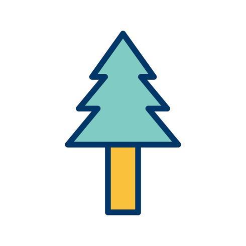 Pine Tree Vector Icon