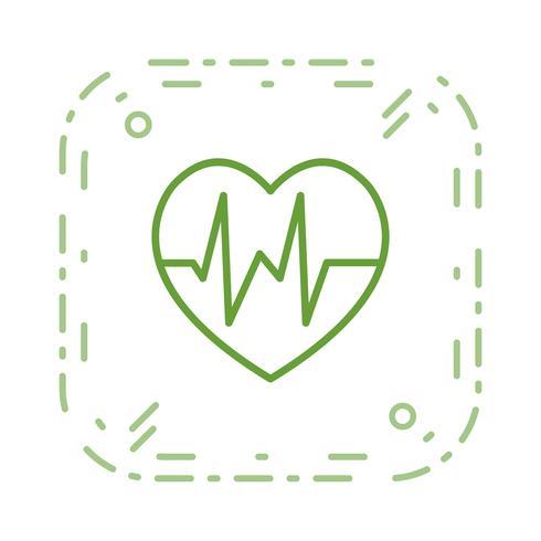 Vektor-Herzschlag-Symbol