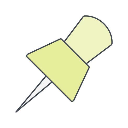 icona di vettore del perno
