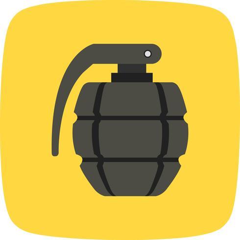 Ícone de vetor de granada