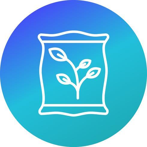 icône de vecteur fertilisant