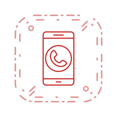 Appeler Mobile Application Vector Icon
