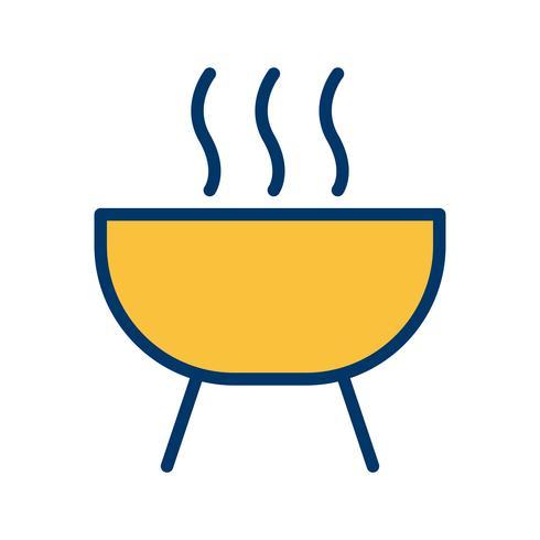 icône de vecteur de barbecue