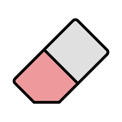 Icona di vettore di gomma