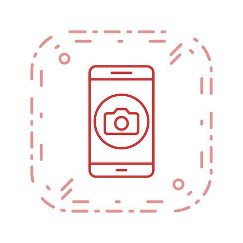 Caméra Mobile Application Vector Icon