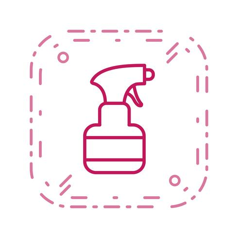 Icône de vecteur de pulvérisateur