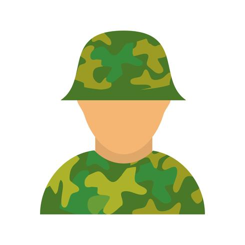 solider vector pictogram