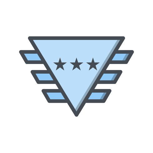 Icona di vettore del distintivo