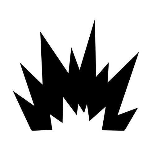 Blast Vector Icon