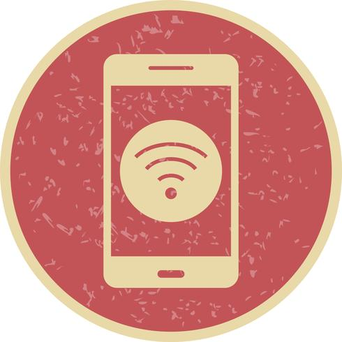 wifi mobil applikations vektorikonen