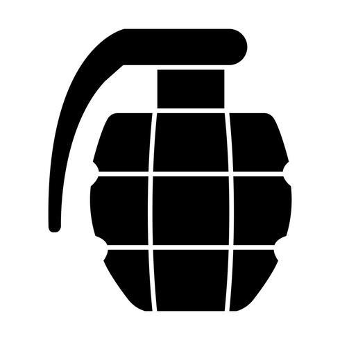 Icona di vettore di granata
