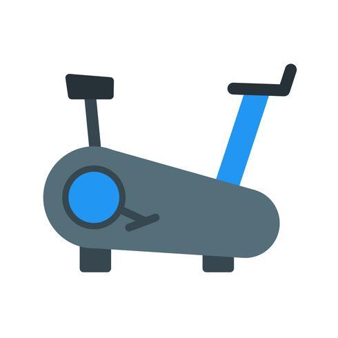 Vector Vector icono de la máquina de ciclismo