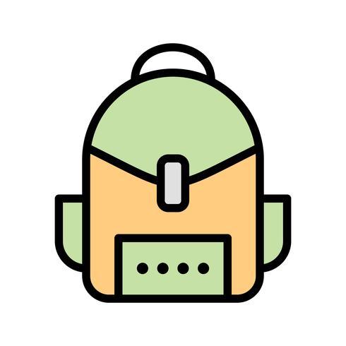 Icône de vecteur de sac