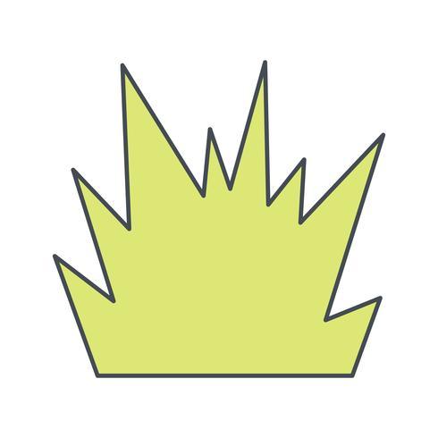 Icône de vecteur de souffle