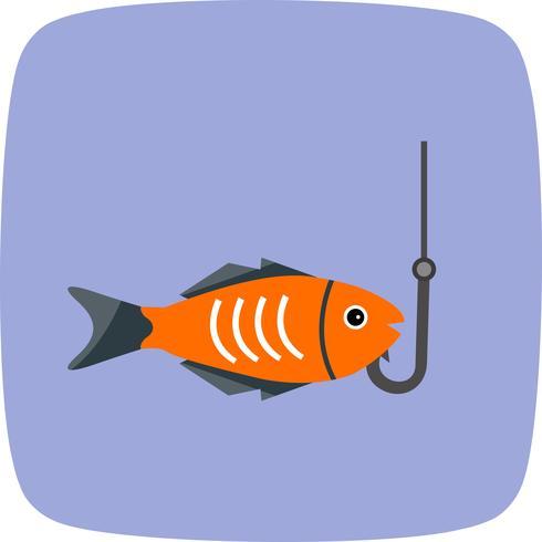Fischerei-Vektor-Symbol
