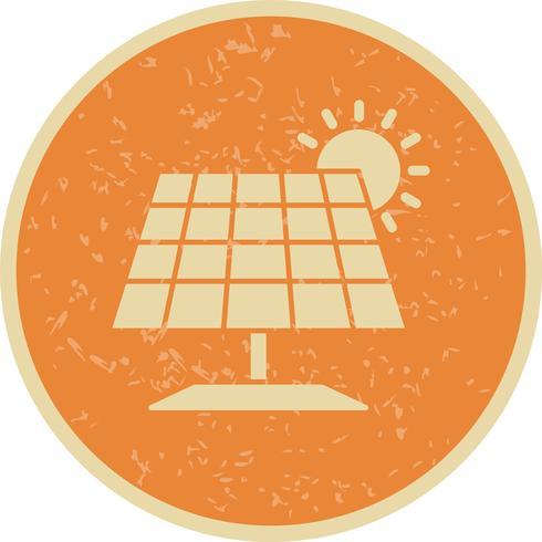 Panneau solaire Vector Icon