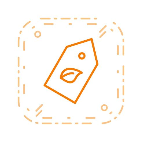Eco-label Vector Icon