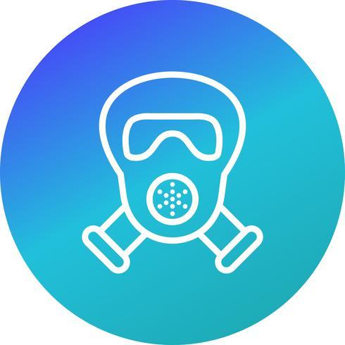 Masque à gaz Vector Icon