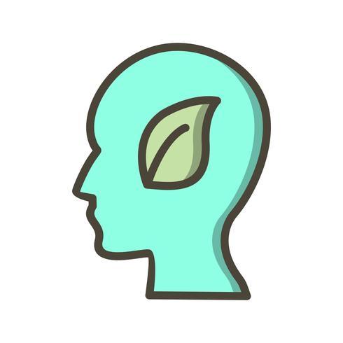 icône de vecteur esprit eco