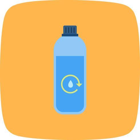 L'acqua ricicla l'icona di vettore