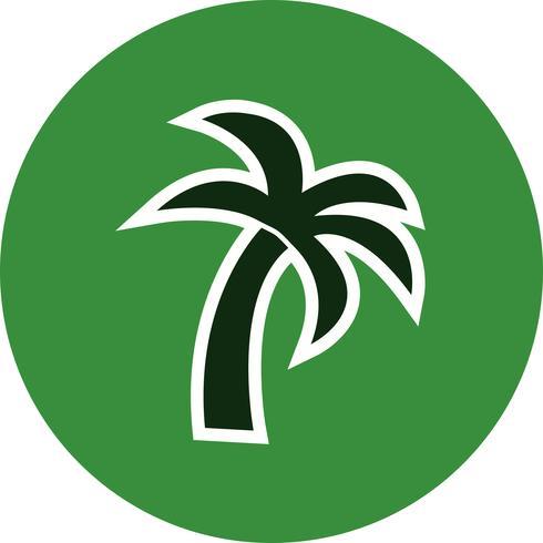 Palme-Vektor-Symbol
