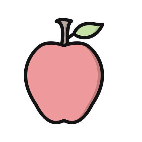 Vector Apple-pictogram