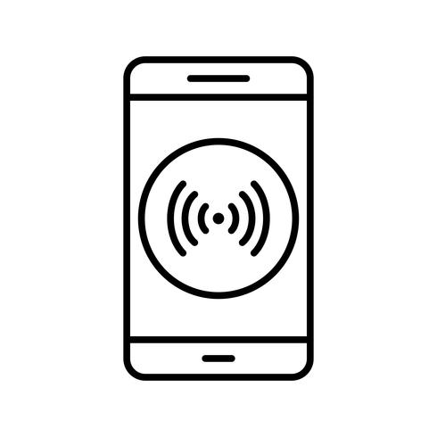 icono de vector de aplicación móvil hotspot