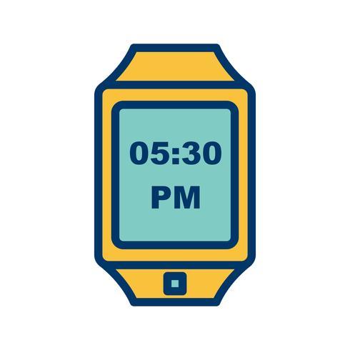 Vektor Smart Watch-Symbol