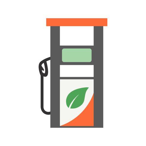 Ícone de vetor de gás