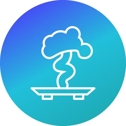 Icona di vettore dei bonsai