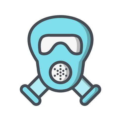 Gasmasker Vector Icon